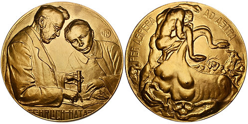 "101429  |  GERMANY & JAPAN. Ehrlich & Hata ""Syphilis"" bronze Medal."