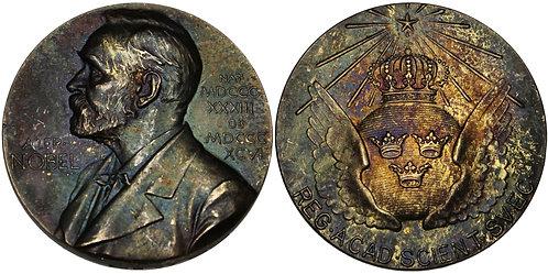101225  |  SWEDEN. Alfred Nobel/Nominating Committee silver Award Medal.