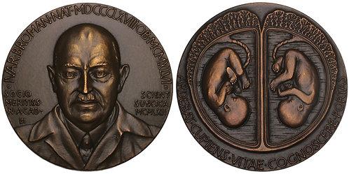 100693  |  SWEDEN. Ivar Broman bronze Medal.
