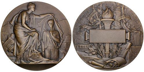 101682  |  FRANCE. Université de Paris bronze award Medal.