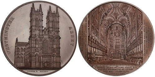 101471  |  GREAT BRITAIN. London. Westminster Abbey bronze Medal.