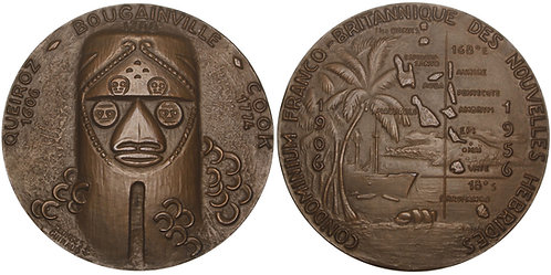 101006  |  VANUATU, FRANCE & GREAT BRITAIN. Bronze Medal.