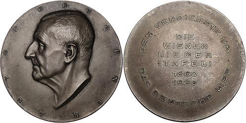 100276 | AUSTRIA. Josef Anton Bruckner silvered bronze Medal.
