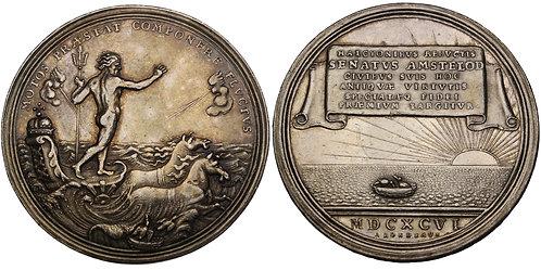 100563     NETHERLANDS. Amsterdam. Silver Medal.