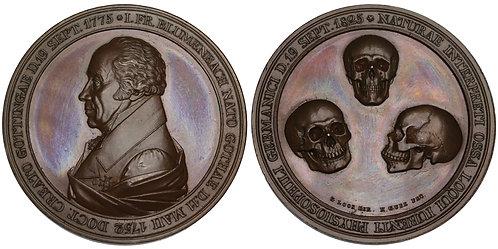 100791  |  GERMANY. Johann Friedrich Blumenbach bronze Medal.