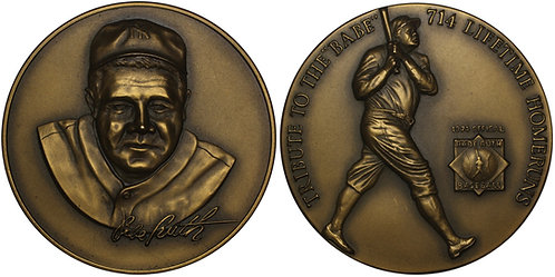 100448  |  UNITED STATES. George Herman 'Babe' Ruth bronze Medal.