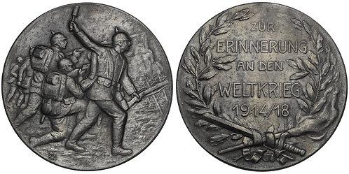 100838  |  GERMANY. Propaganda zinc Medal.