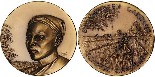 100523  |  UNITED STATES. She Slave bronze Medal.