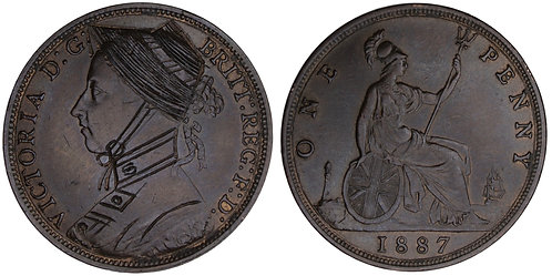 101010  |  GREAT BRITAIN. Suffragette engraved bronze Penny.
