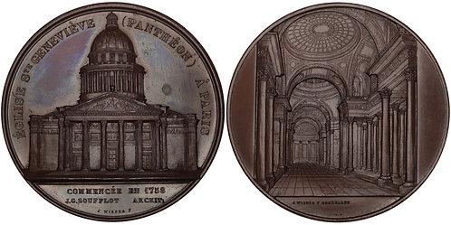100731  |  FRANCE. Panthéon (Église Sainte-Geneviève) de Paris bronze Medal.