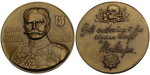 100380  |  GERMANY. Anton Ludwig August von Mackensen bronze Medal.