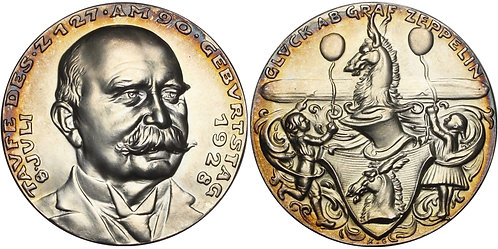 100719  |  GERMANY. Graf von Zeppelin silver Medal.