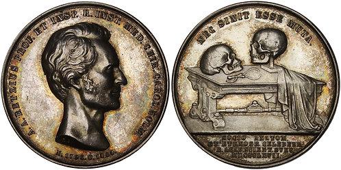 100630  |  SWEDEN. Anders Adolph Retzius silver Medal.