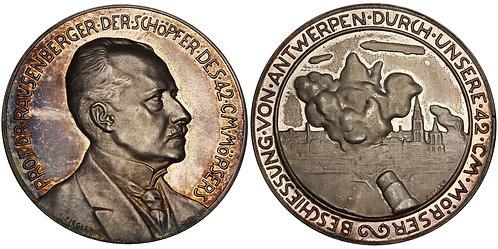 100796  |  GERMANY. Prof. Fritz Rausenberger silver Medal.
