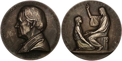 100851  |  SWEDEN. Pontus Wikner silver Medal.