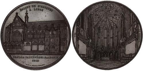 101003     BELGIUM. Liège. St. James's Church bronze Medal.