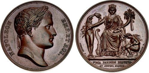 100054 | FRANCE. Napoleon I bronze Medal.