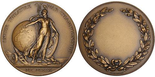 101201  |  GREAT BRITAIN. Inter Theatre of War Championship bronze award Medal.