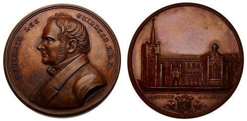 100106  |  GREAT BRITAIN. Benjamin Guinness bronze Medal.