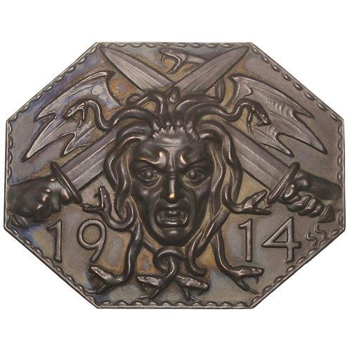 100939  |  AUSTRIA. Medusa uniface bronze Plaque.
