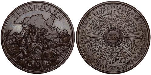 100749  |  GREAT BRITAIN & RUSSIA. Crimean War bronze Medal.