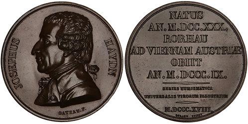 101242  |  GERMANY & FRANCE. Joseph Haydn bronze Medal.
