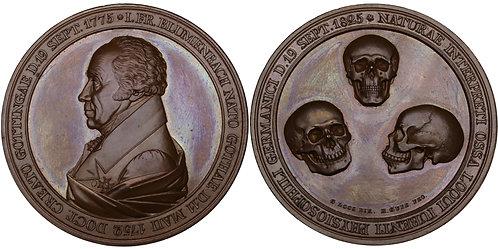 100449  |  GERMANY. Johann Friedrich Blumenbach bronze Medal.