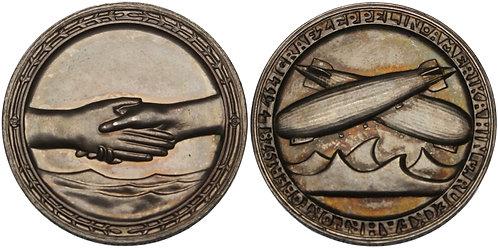 100957  |  GERMANY. Zeppelin silver Medal.