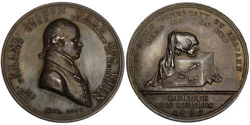 100790  |  GERMANY. Franz Josef Gall silver Medal.