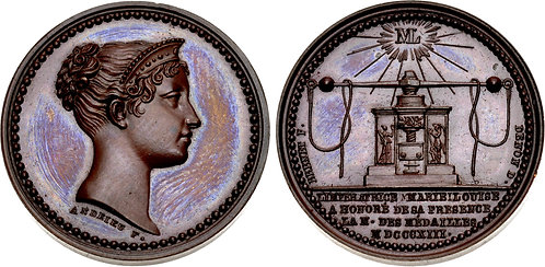100059 | FRANCE. Marie Louise bronze Medal.