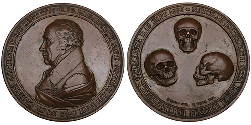 100584  |  GERMANY. Johann Friedrich Blumenbach bronze Medal.