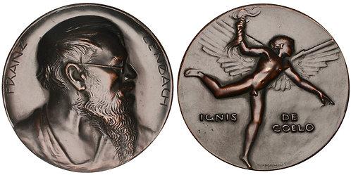 101356  |  GERMANY. Franz von Lenbach bronze Medal.