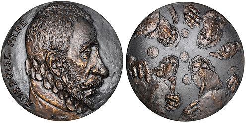 101435     FRANCE. Ambroise Paré/Surgeons bronze Medal.