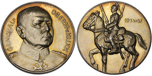 100536  |  GERMANY. Generaloberst Alexander von Kluck silver Medal.