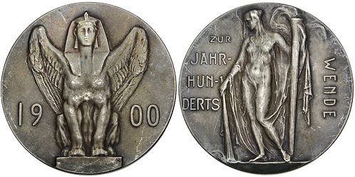 101693  |  GERMANY. New Century silver Medal.