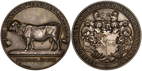 101232  |  SWEDEN. Elfsborg (Älvsborg) silver award Medal.