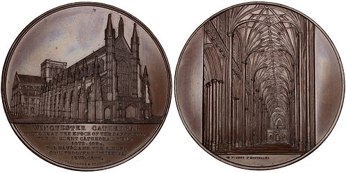 101472  |  GREAT BRITAIN. Winchester Cathedral bronze Medal.