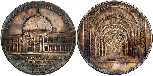 100619  |  GREAT BRITAIN. Silvered bronze Medal.