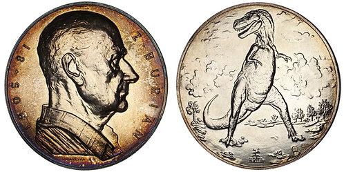 100701  |  CZECHOSLOVAKIA. Zdeněk Michael František Burian silver Medal.