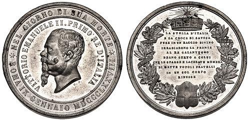 100015 | ITALY. Vittorio Emanuele II Medal.