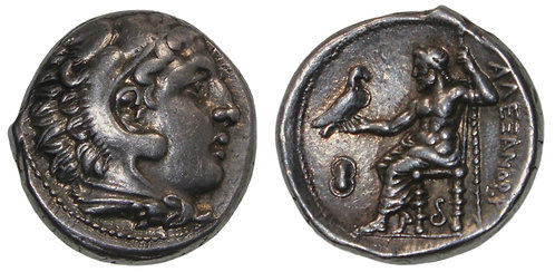 100123     GREEK. Alexander III the Great silver Tetradrachm.