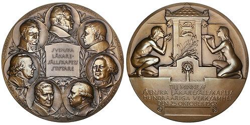 101643  |  SWEDEN. Swedish Medical Society bronze Medal.