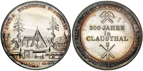 101381     GERMANY. Braunschweig-Lüneburg. Mining silver Medal.