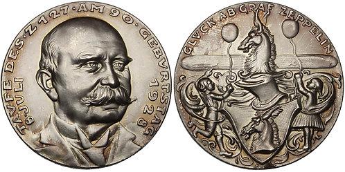 100896  |  GERMANY. Graf von Zeppelin silver Medal.