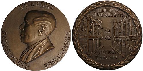 100401  |  SWEDEN. Peter Andreas André bronze Medal.