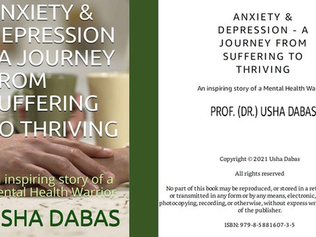 ANXIETY & DEPRESSION - A JOURNEY FROM SUFFERING TO THRIVING