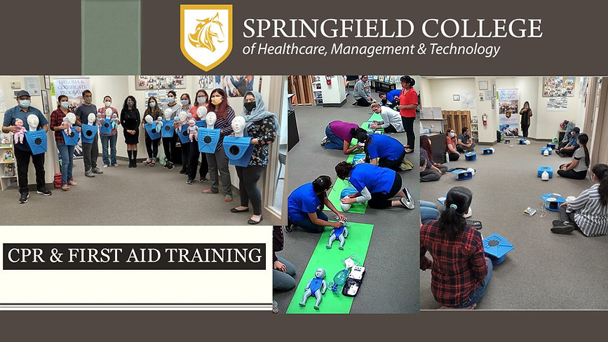 CPR & First Aid Certificate Training