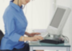 Medical Transcription Certificate Program Student