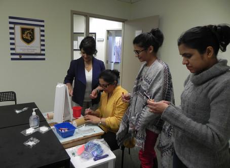 Phlebotomy Class at Brampton Campus