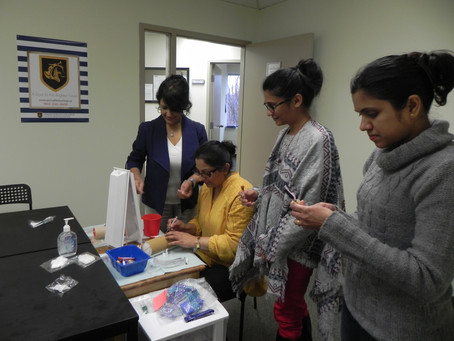 Phlebotomy Class at Brampton Campus
